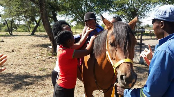 Therapeutic riding 1